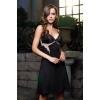 Сорочка Mia-Mia Elegance de lux,  черная M